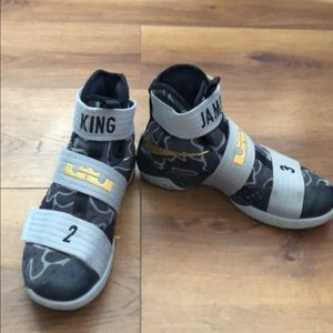 Lebron soldier 10s custom made (not store bought)